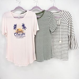 Old Navy Lot of 3 Mixed Tops